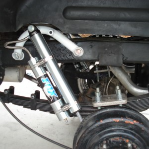 Rear VIF Shock Hoop
